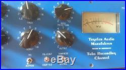 Tegeler Audio Manufaktur German Valve Recording Channel Strip Compressor EQ