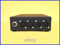 Telefunken Dual Micpre V672 Lunchbox phantom power phase rev. Gain ext. PSU