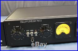 Telefunken V672 preamps. Excellent