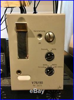Telefunken V76/80 vintage mic preamp