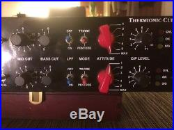Thermionic Culture Rooster Stereo Tube Mic Pre Eq and Distortion