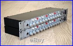 Trident 4T Celebration Stereo Matched Pair Rackmount Preamp, EQ & Compressor