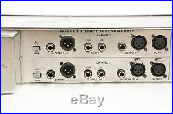Trident A-Range Dual Channel Discrete Mic Amplifier and Equaliser Pre EQ #36202