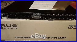 True Systems Precision 8 channel mic preamplifier, original owner and packaging