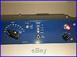 Tube-Tech MP-1A Dual MIC Preamp and DI Tube Mic Pre Amp- LARGER THAN LIFE