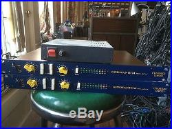 Two Chandler Germanium Mic Pre Preamps withPS Power Supply and cables