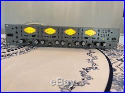 UAD Universal Audio 4-710d 4 Mics Preamp DI ADAT XLR