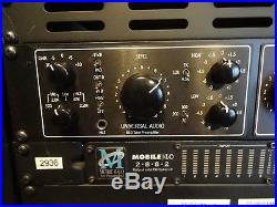 UNIVERSAL AUDIO, LA 610 MK2, Classic Tube Recording Channel, Neuwertig