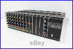 Ultra Rare Uk Rebis 200 Rack With Compressors, Gates, De-essers & Line Preamps