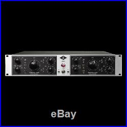 Universal Audio 2-610S Silverface Dual-Channel Microphone Preamp
