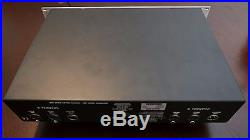 Universal Audio 2- 610 S, 2 Channel Mic Preamp VERY NICE