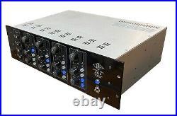 Universal Audio 4110 4 ch class A preamp bundle
