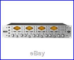 Universal Audio 4-710D Four-Channel Tone-Blending Mic Pre +1176 Dynamics +A/D