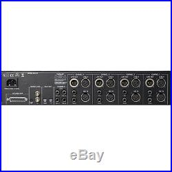 Universal Audio 4-710d 4-Channel Tone Blending Mic Preamp with AKG C214 Condense