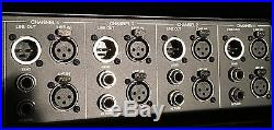 Universal Audio 4-710d 4-channel Tube FET Preamp and DI Mic Pre