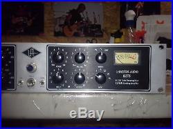 Universal Audio 6176 mic preamp DI, FET compressor EQ professional channel strip