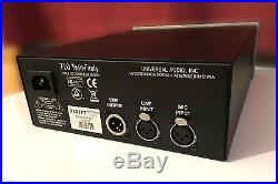 Universal Audio 710 Twin-Finity Tone-Blending Mic Preamp and DI Box