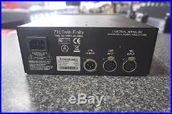 Universal Audio 710 Twin-Finity Tone Blending Preamplifier