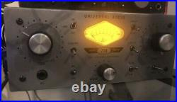 Universal Audio 710 Twin-Finity Tube Microphone Preamp Excellent Condition