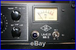 Universal Audio LA610 MKII 610 Tube Preamp and TK4 Optical Compressor