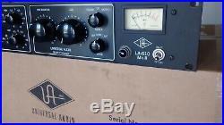 Universal Audio LA-610 MKII Channel Strip Tube Preamp EQ Comp. Limiter