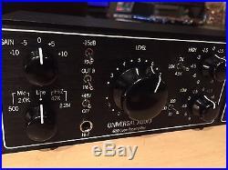 Universal Audio LA-610 MKII Tube Mic Preamp Compressor Channel Strip