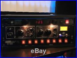 Universal Audio LA-610 MK II Vacuum Tube Preamp with EQ and Optical Compressor