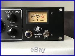Universal Audio LA-610 Mk II Classic Tube Recording Channel