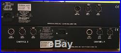 Universal Audio LA-610 Tube Preamp And Optical Compressor