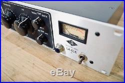 Universal Audio LA-610 mic preamp compressor in near MINT condition