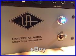Universal Audio M-610 Tube Preamplifier M610 PreAmp