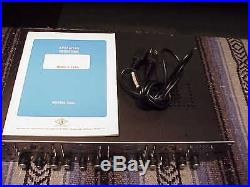 Universal Audio Model 4-710d 4 Channel Mic Preamp