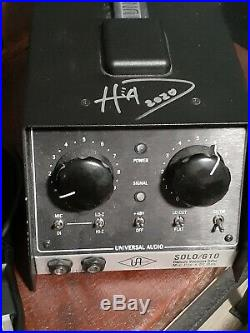 Universal Audio Solo 610 Classic Owned And Used By (Brian HEAD Welch) Signed