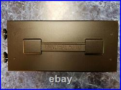 Universal Audio Solo 610 Classic Vacuum Tube Mic Pre & Di Box EXCELLENT
