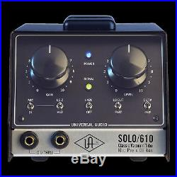Universal Audio Solo 610 New Factory Repack