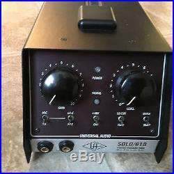 Universal Audio Solo 610 in Excellent Condition