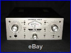 Universal Audio Twin-Finity 710 Tone Blending Mic Preamplifier & DI Box USED