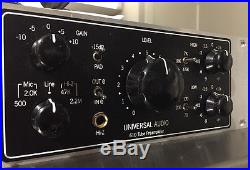 Universal Audio (UA) 2-610 Dual Channel Silverface Tube Microphone Preamplifier