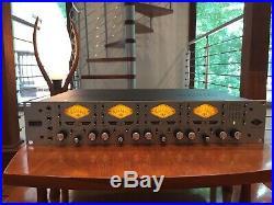 Universal Audio UA 4-710D 4 Channel Studio Mic Preamp
