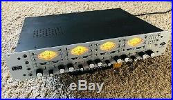 Universal Audio UA 4-710D 4 Channel Studio Mic Preamp Tube Solid State 1176 Comp