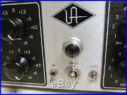 Universal Audio UA 6176 Tube Channel Strip Mic Pre-Amplifier & Compressor