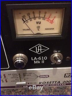 Universal Audio UA LA610 MKII Channel Strip