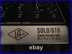 Universal Audio (UA) SOLO 610 Vacuum Tube Mic Pre-Amp