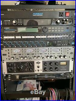 Universal audio 4-710d 4-channel Variable Tube Solid State Mic Preamp ADAT