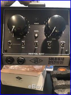 Universal audio solo 610
