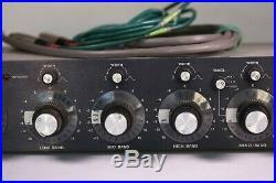Urei model 545 parametric equalizer Rare Vintage