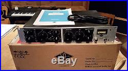 Used Universal Audio LA-610 Silverface Classic Tube Channel Strip Preamp