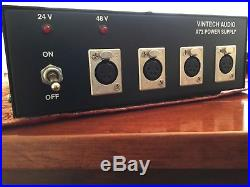 VINTECH 273 (NEVE 1073) 2 Channel Preamp with Vintech x73 POWER SUPPLY PRISTINE