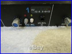 Vintage API 3124 Preamp Recently serviced