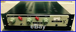 Vintage British 60s 2 Chan Valve Tube Mic and Line Pre unit Analogue Addicts